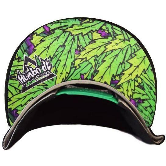 04a5292732c Flat Bill Emerald Triangle Custom Otto Snap Hat - Humboldt Clothing