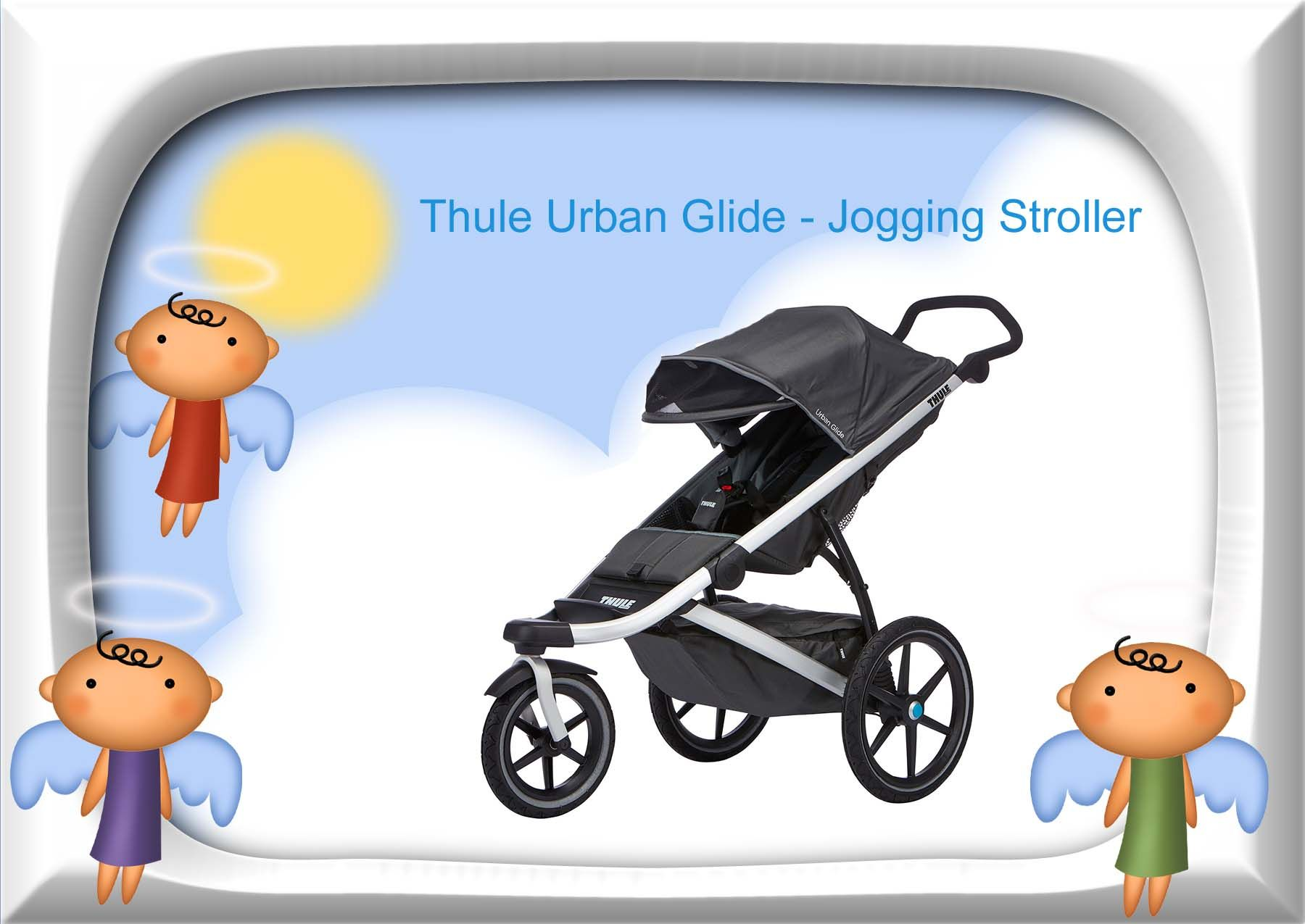 Thule Urban Glide jogger is a baby carriage that will get