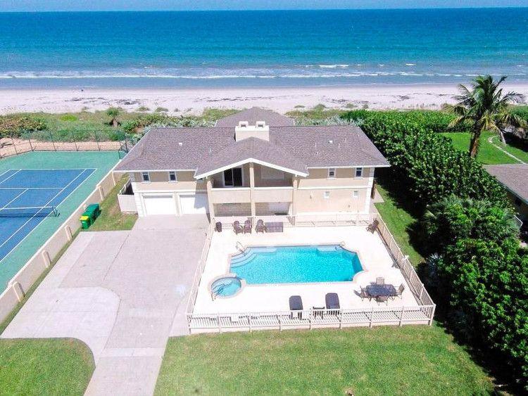 This Is The Perfect Florida Beach House And It Still Has August Availability Tripadvisor Florida Beach House Florida Beachfront Vacation Rentals Beach House Rental