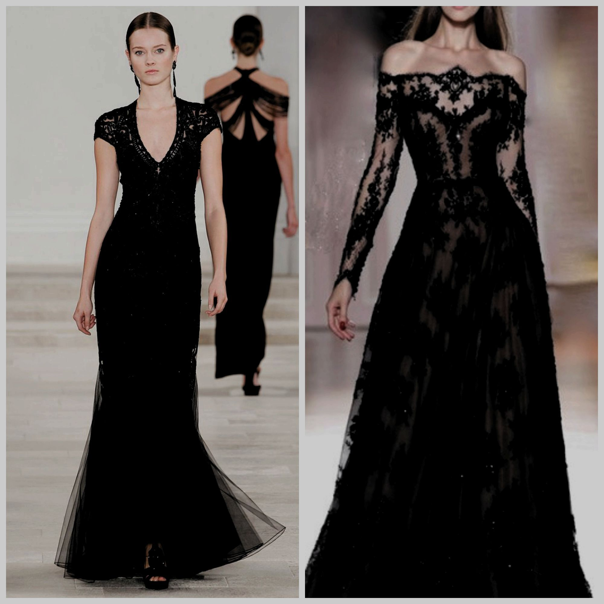 Black Tie event dress guide for women source: http://www ...