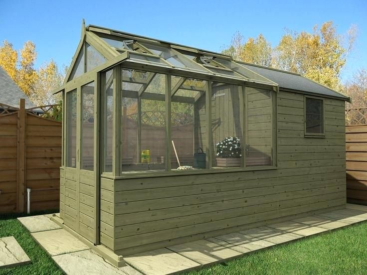 Attirant Garden Shed Greenhouse Combo Garden Sheds And Greenhouse Combinations  Ghanadvertsclub   Hawe Park