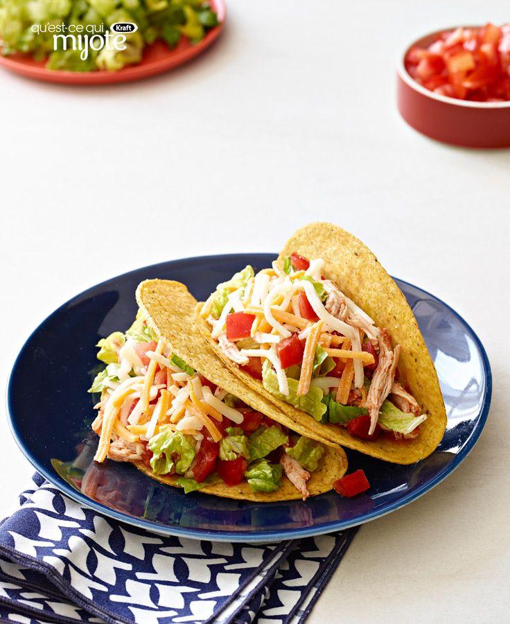 Tacos Au Poulet à La Mijoteuse #recette