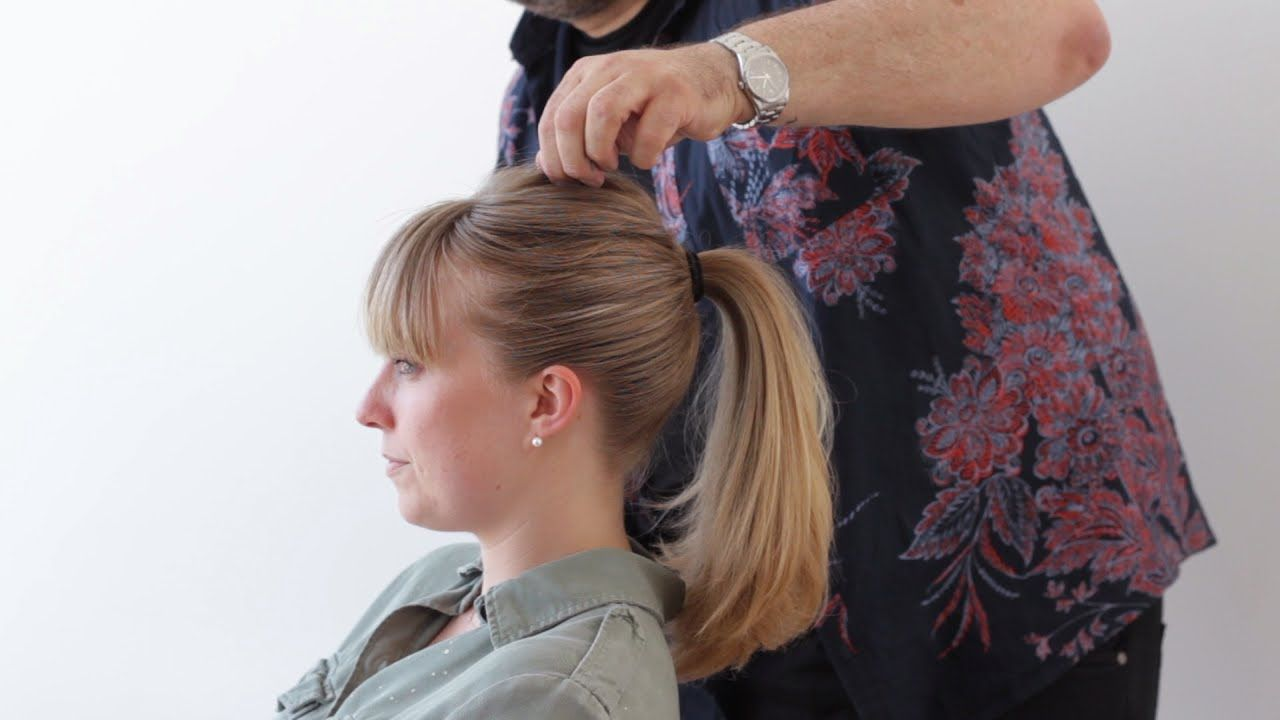 The modern hepburn ponytail with neil moodie hair insplong
