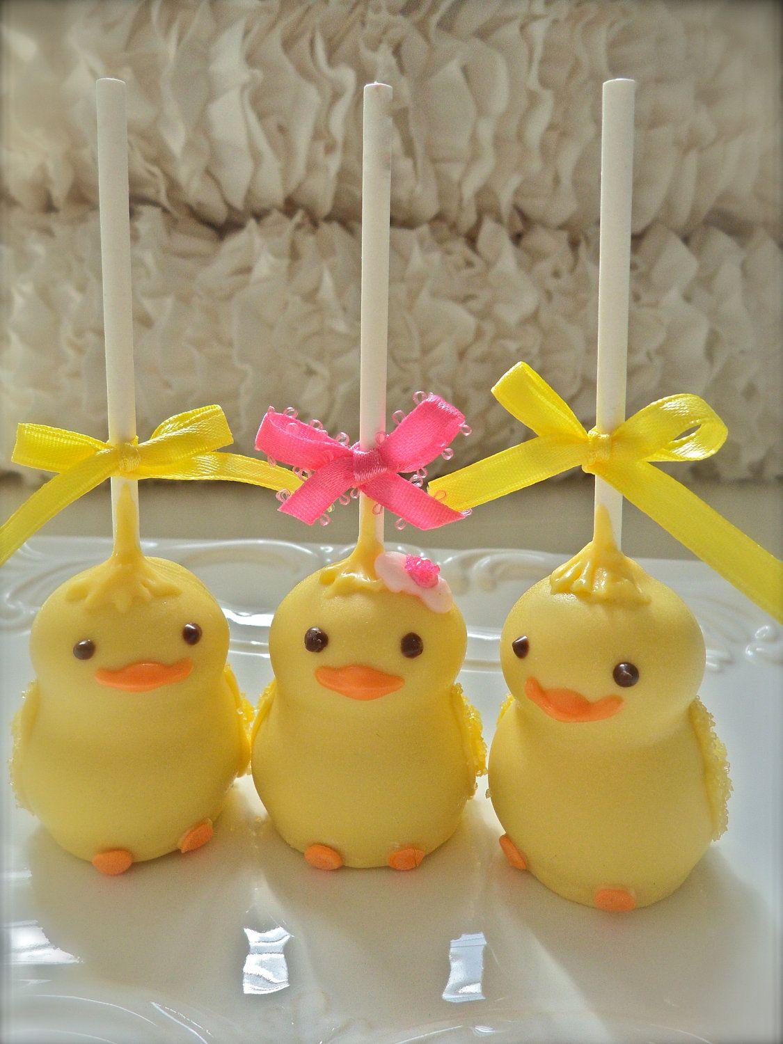 12 Baby Chick Baby Shower Favors Gender Reveal Party Cake