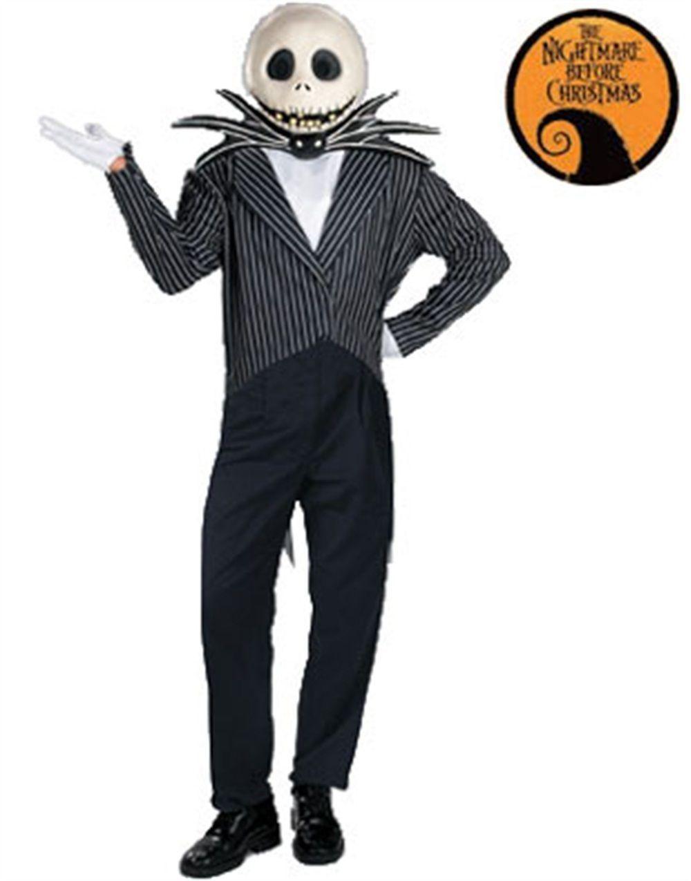 men 52762: new adult men s jack skellington deluxe costume xl (42