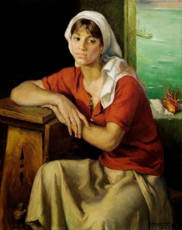 Francisco Ribera Gomez ~ Romantic Figurative painter   Tutt'Art@   Pittura * Scultura * Poesia * Musica  