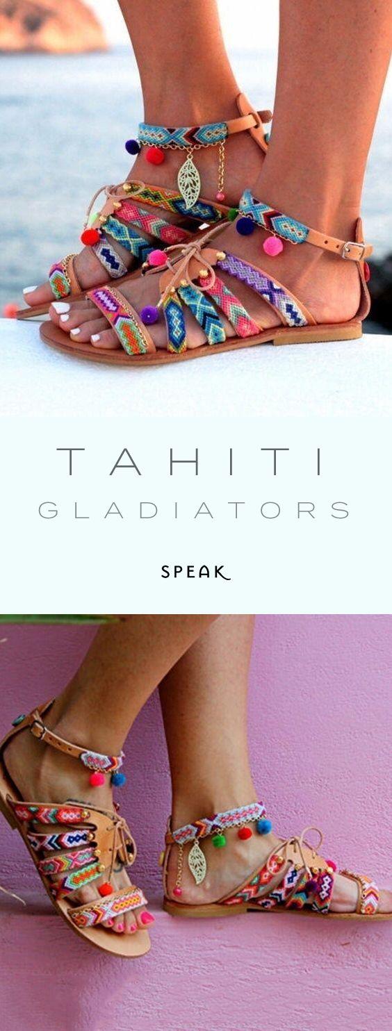 Tahiti Gladiator Sandals Gallery