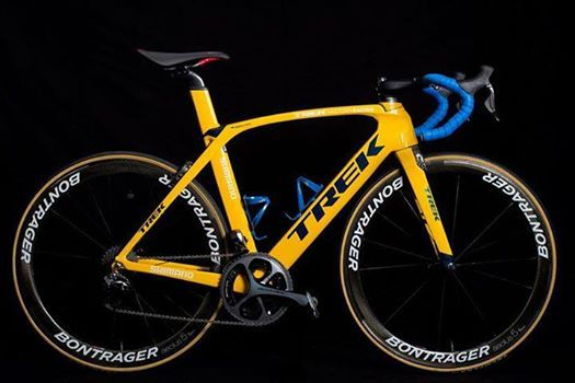 World Bike Trek Factory Racing Project One Custom Velo Bike