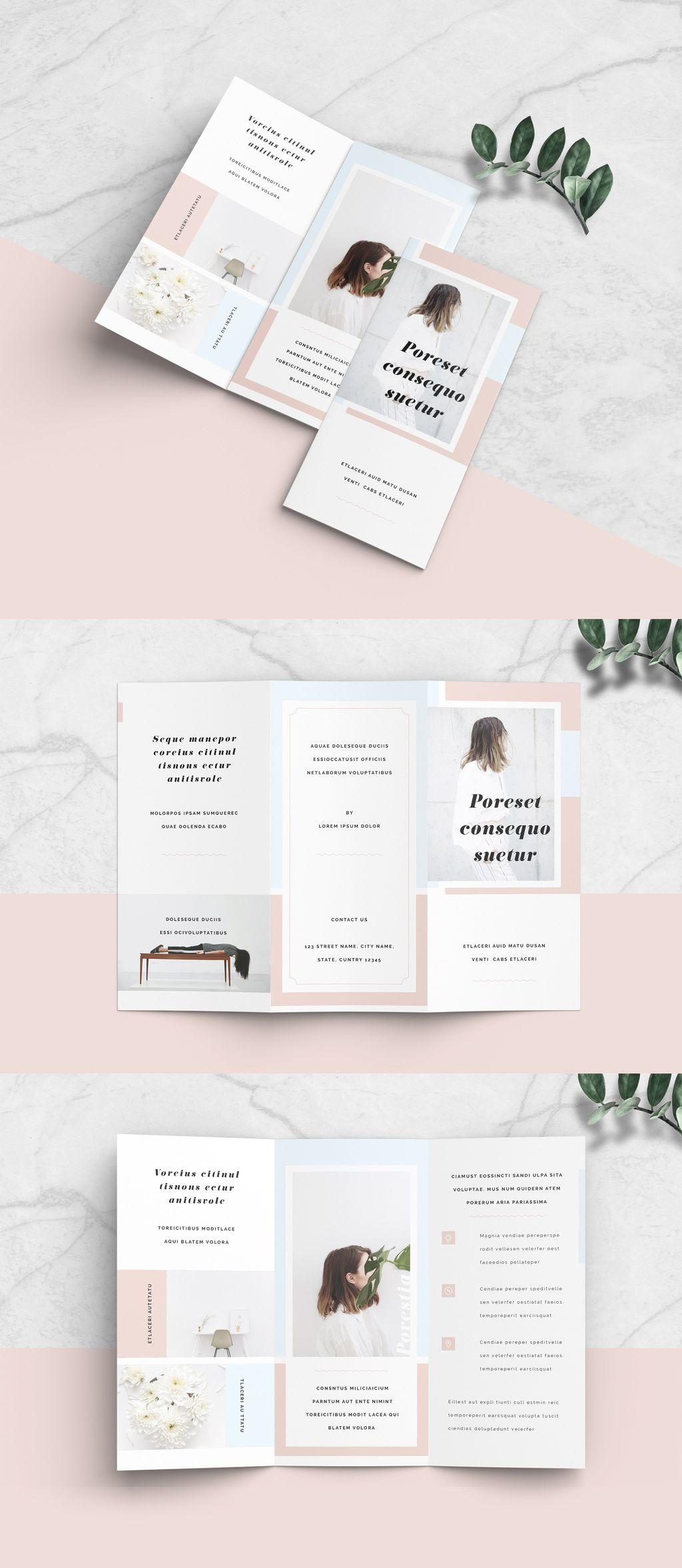 Minimalist Brochure Layout Brochure Booklet Flyer Layout