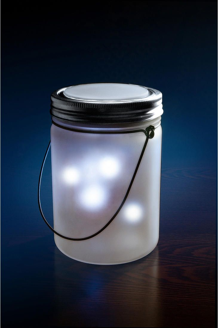 The Dreamlight gently winks and blinks as you fall asleep to happy memories of glowing fireflies, warm summer nights, and lazy vacation days. It works through solar power. Place in full sun during the day and enjoy the illumination when darkness falls! $35