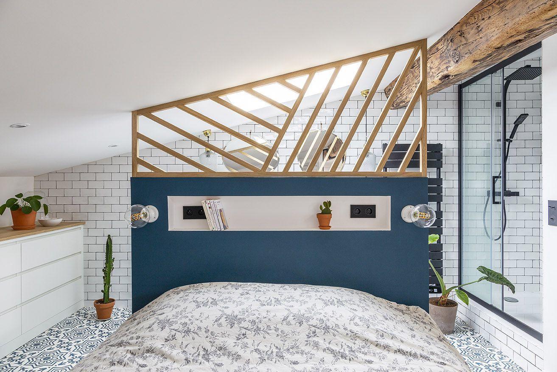 Appartement Bordeaux : un 16 m16 sous les toits refait à neuf