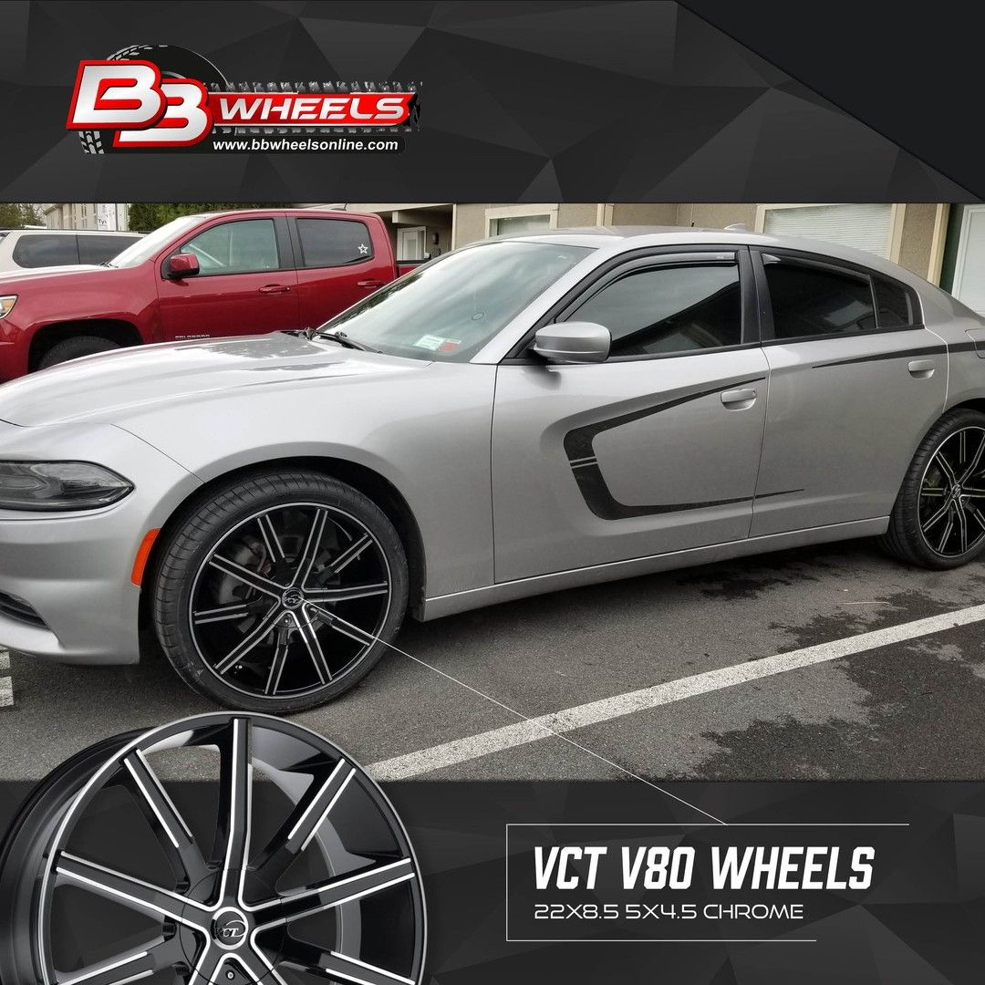 Sales9771 Posted To Instagram Calvin H We Love Your Dodge Charger Check Out The 22x8 5 Vct V80 Wheels On Dodge Charger Sxt 2015 Dodge Charger Dodge Charger