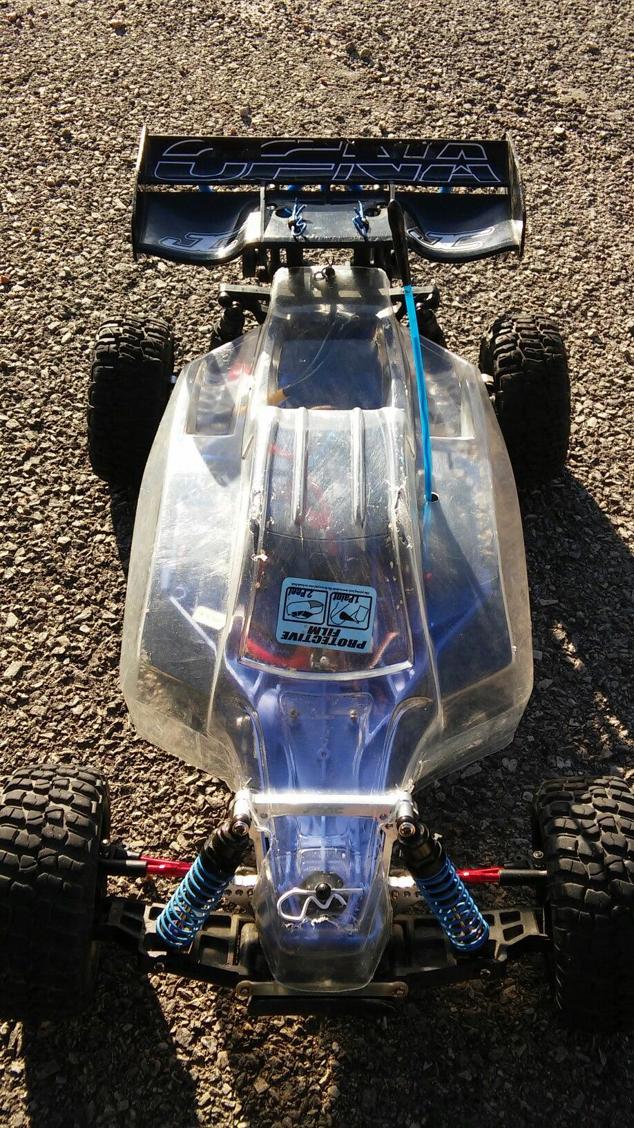 traxxas 2wd slash custom lcg backslash | my custom moded rc