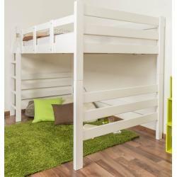 Photo of Hochbett für Erwachsene Easy Premium Line K15/n, Buche Vollholz massiv weiß lackiert, teilbar – Lieg
