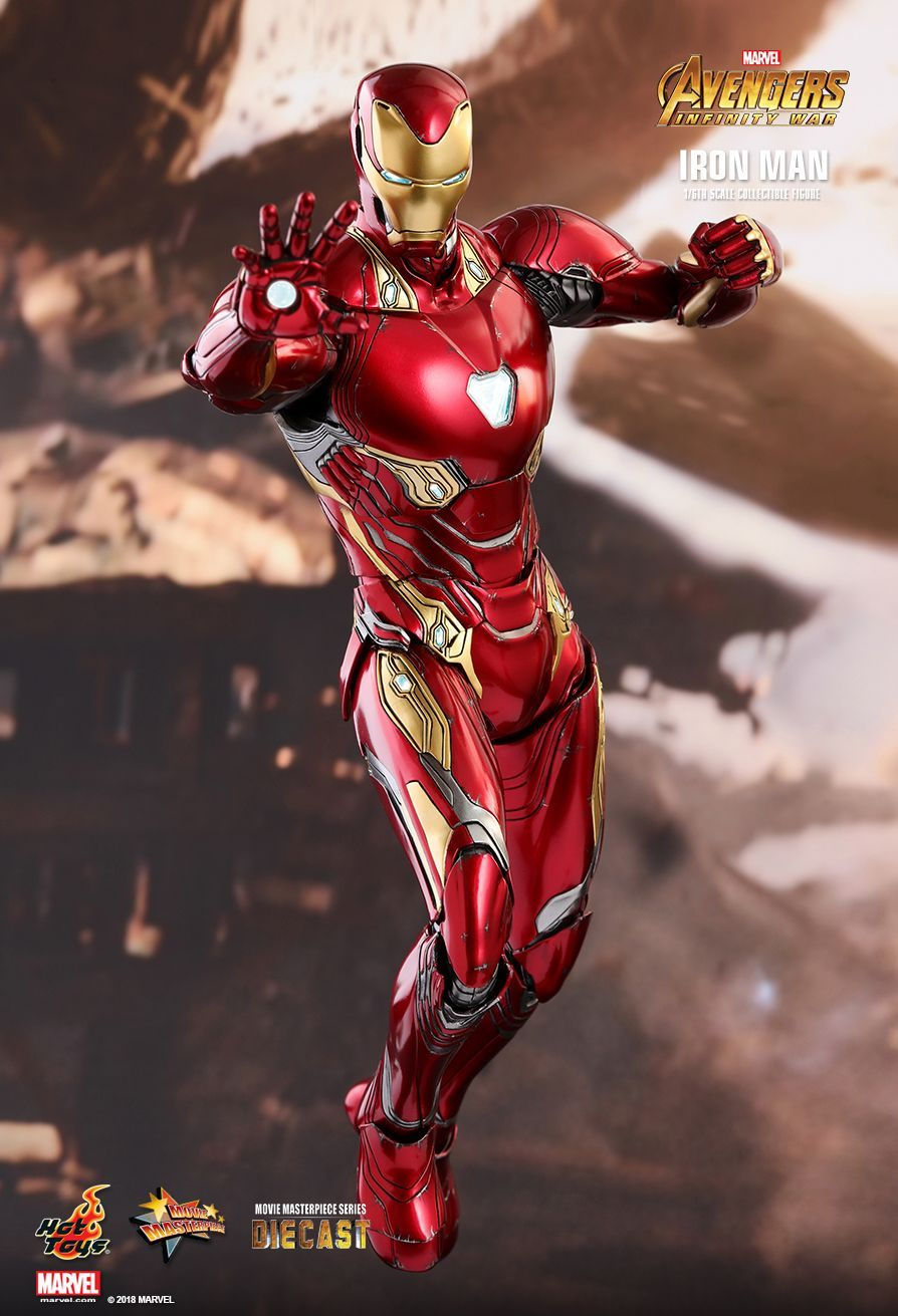 avengers: infinity wars - ironman mark 50hot toys. | infinito