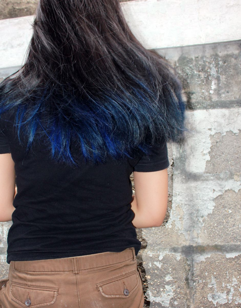 My Hair Now Shocking Blue Is Back Hair Styles Manic Panic Shocking Blue Shocking Blue