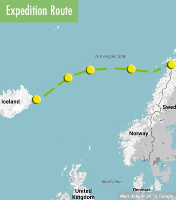 Iceland To Norway Incorporating The Ocean Crossing Mastercl June 11 24 2017 Starts