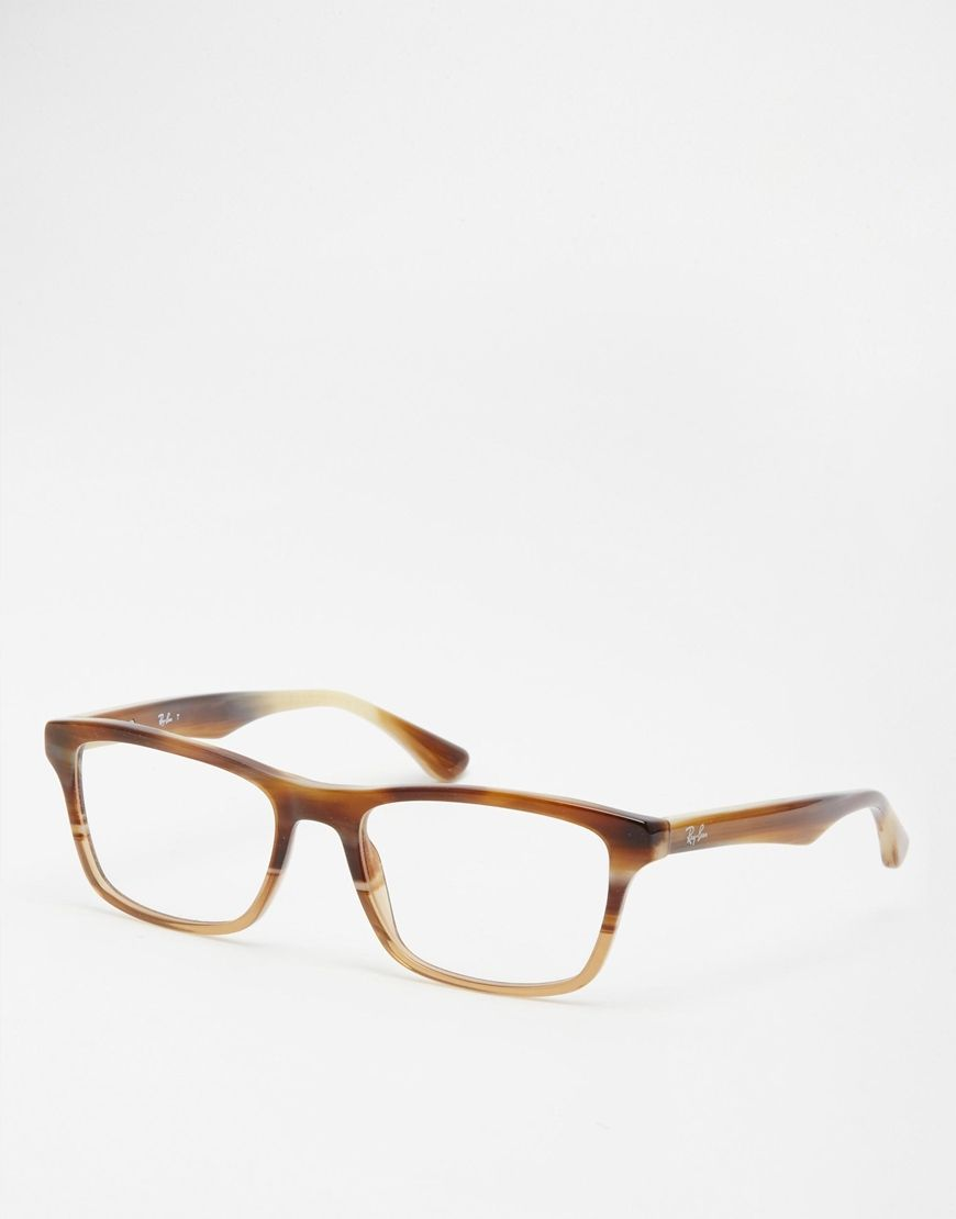 Glasses by Ray-Ban Tortoiseshell frames Moulded nose pads for added ...