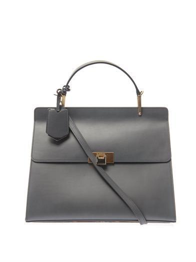 Le Dix Cartable M leather tote | Balenciaga | MATCHESFASHION.COM