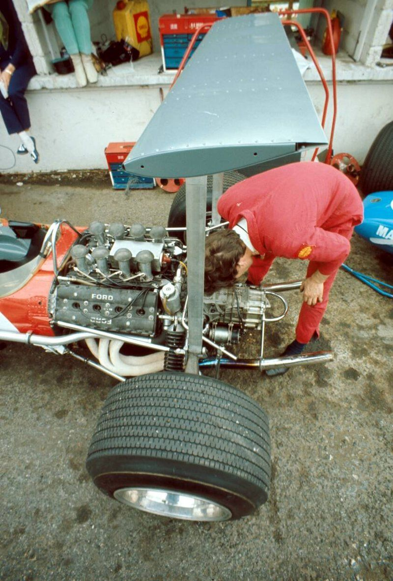 ———– Lotus 49B - Ford Cosworth DFV (Brands Hatch... - SPEED