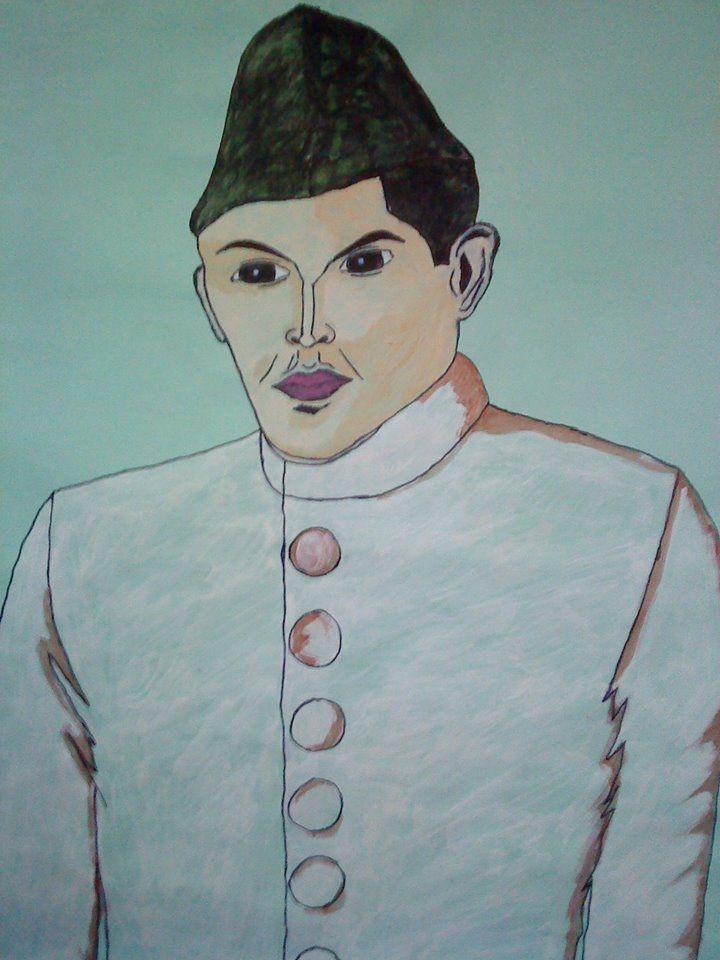 Quaid E Azam Drawings Male Sketch Art