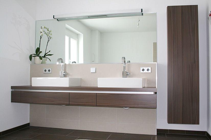 Fertighaus Wohnidee Badezimmer AVEO Familienbad Wohnideen - moderne badezimmermbel
