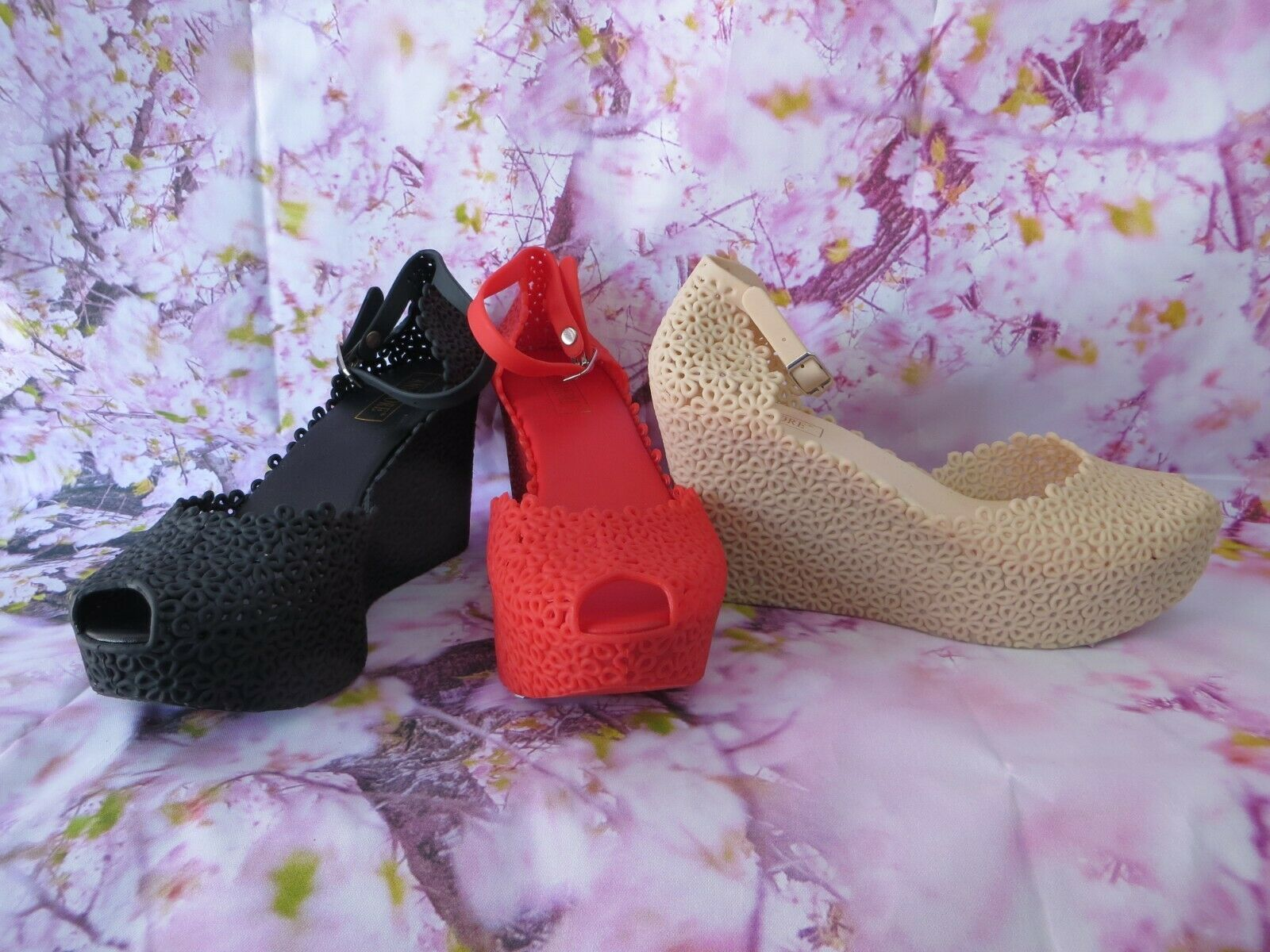JELLIES SHOES WITH FLOWER