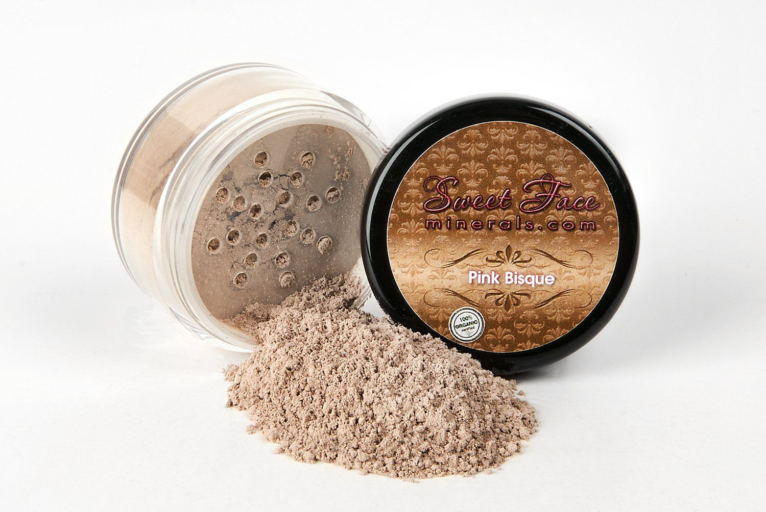 PINK BISQUE FOUNDATION by Sweet Face Minerals Sample to