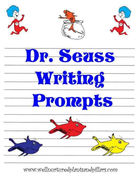 Free Dr Seuss Themed Writing Prompts Kindergarten Writing Prompts Dr Seuss Classroom Kindergarten Writing