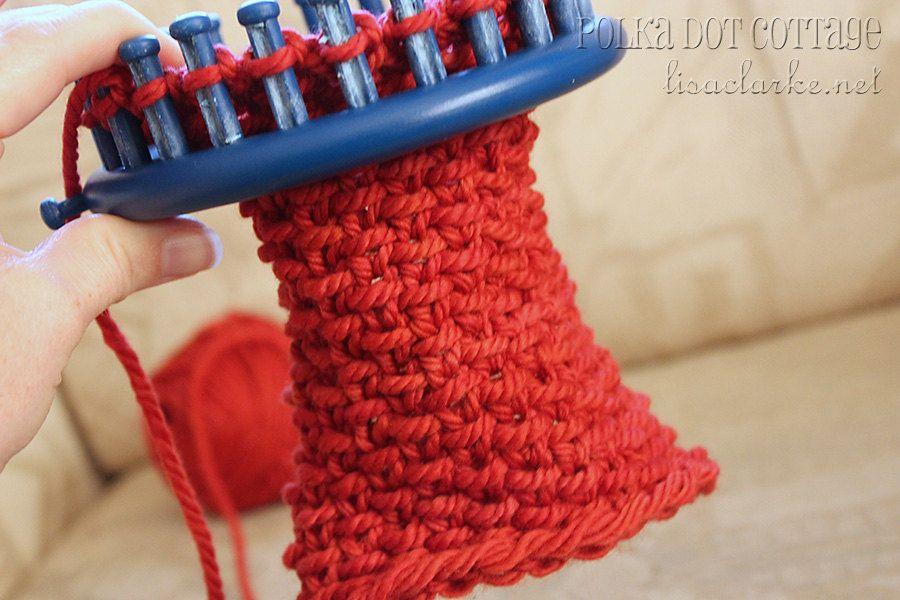 Luxurious Neckwarmer - knitting pattern for Knifty Knitter loom ...