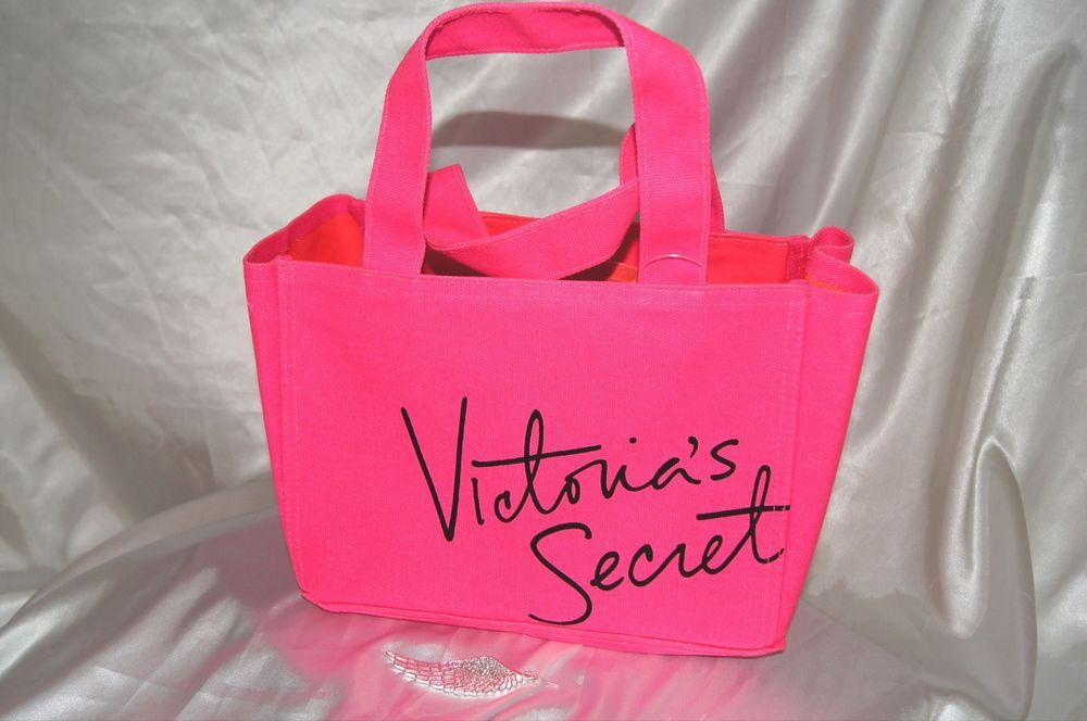 Victorias secret shower caddy organizer hot pink pool tote coated ...