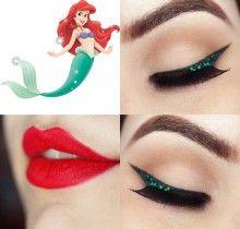 Tutorial – maquiagem inspirada na Ariel