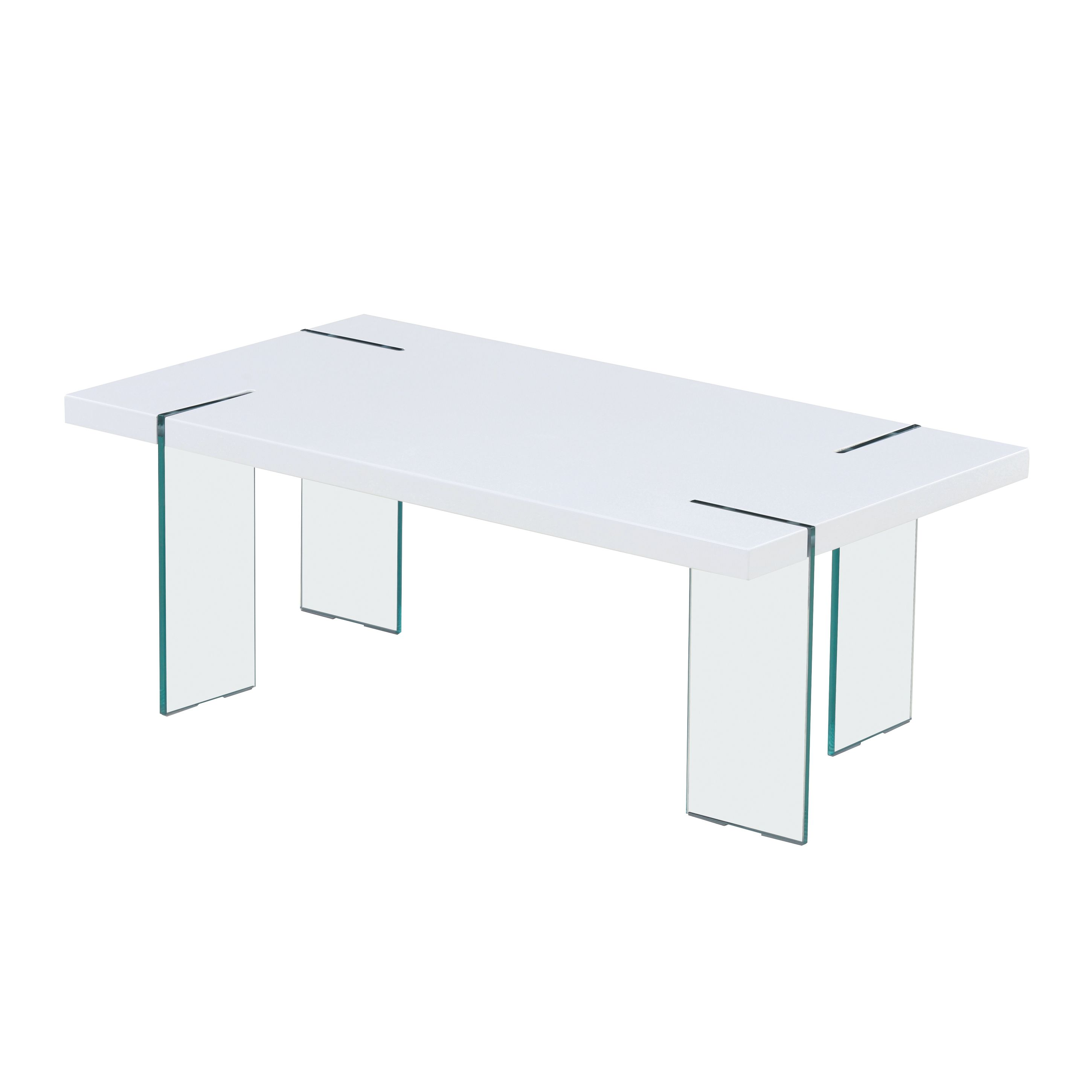 Global Furniture White HG Coffee Table Coffee Table White HG