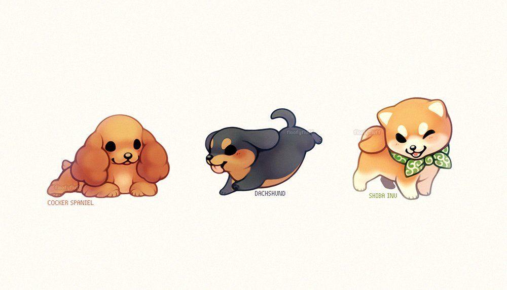 Ida ꮚ ꈊ ꮚ 5 Days Floofyfluff Twitter Cute Art Animal Drawings Puppy Drawing