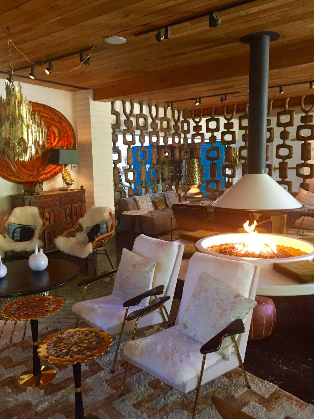 Living Room At The Parker Palm Springs Interior Design By Jonathan Adler Interiors Amp Decr I