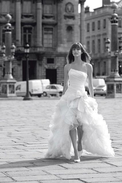 03d3c633779 A vendre Robe de mariée de la marque Cymbeline. Modèle Euriell Couleur  ivoire naturel Bustier drapé asymétrique