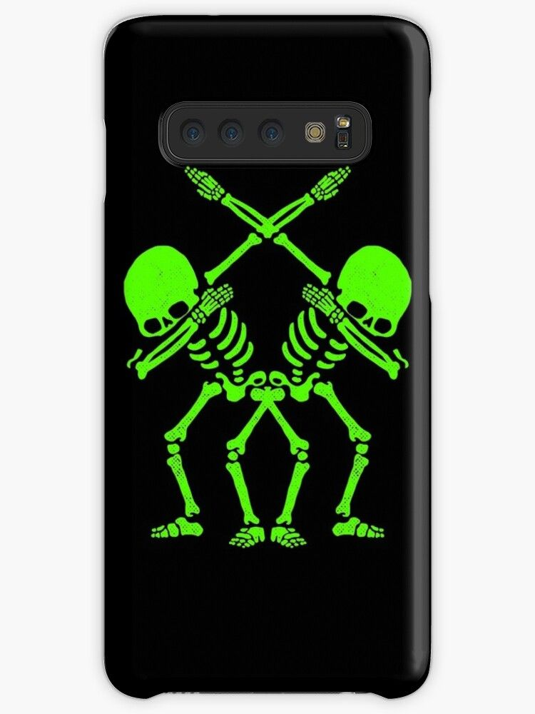 2 Green Skeleton Dabbing Case Skin For Samsung Galaxy By Abde32 In 2020 Iphone Case Covers Iphone Cases Case