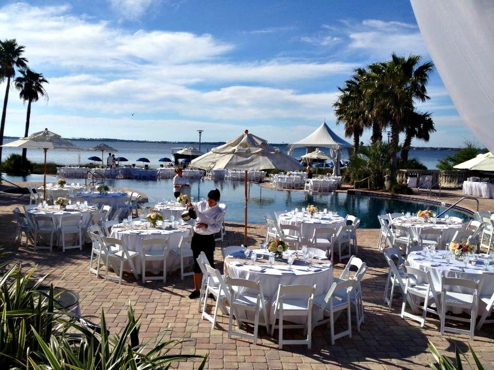 all inclusive beach wedding destinations%0A Find Pensacola Wedding Venues at Portofino Island Resort  u     Spa and Seville  Quarter Pensacola FL