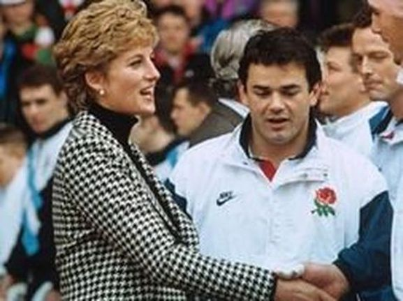 Memories Of Diana - Attending Five Nations Rugby Match at Cardiff Arms Park - February 6th 1993 - with Will Carling