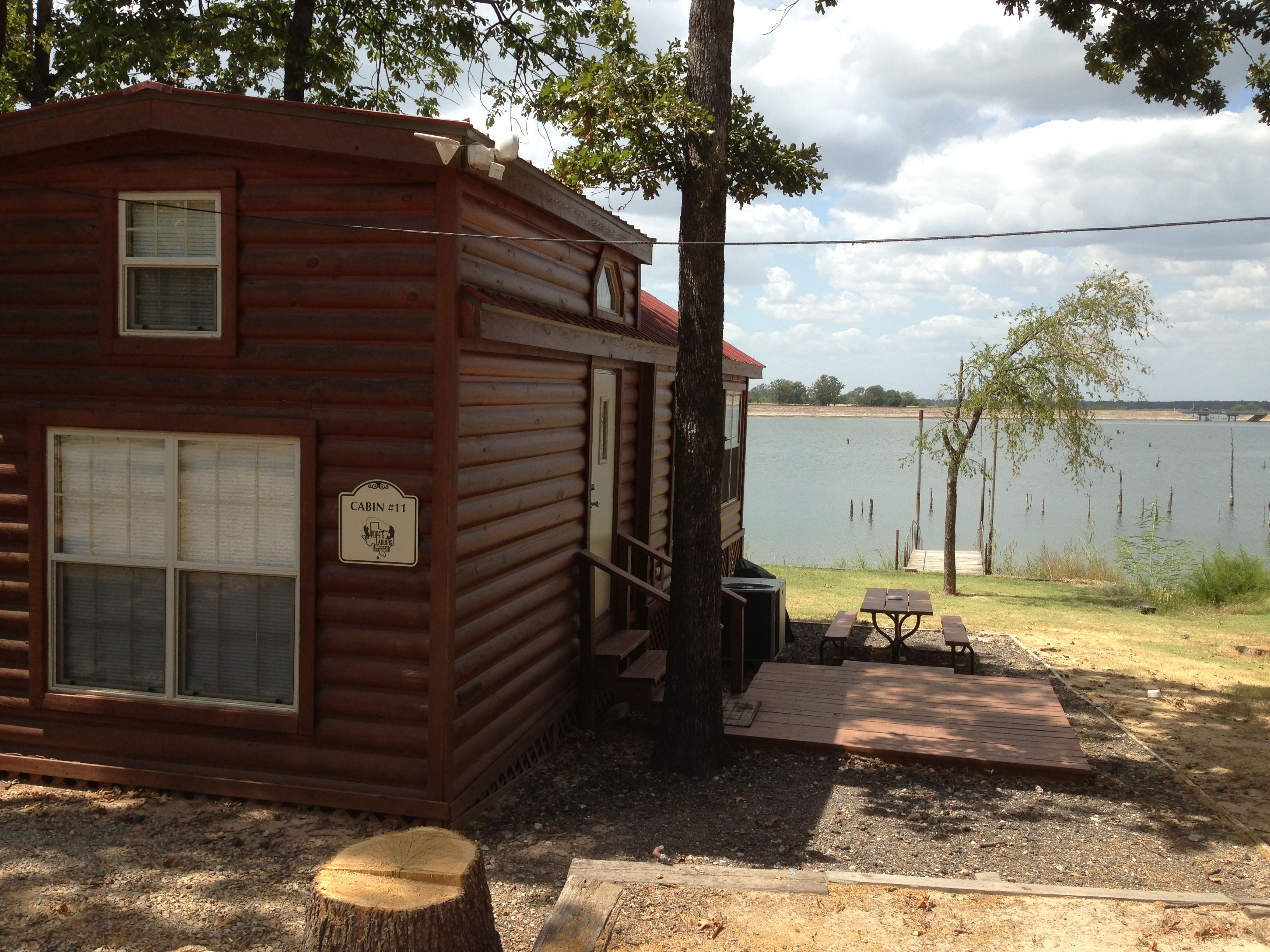 Book your lake fork waterfront cabin today www