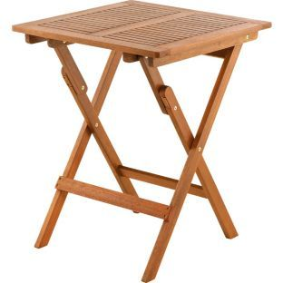 Buy Henley Small Garden Side Table - Natural at Argos.co.uk - Your Online Shop for Garden tables.