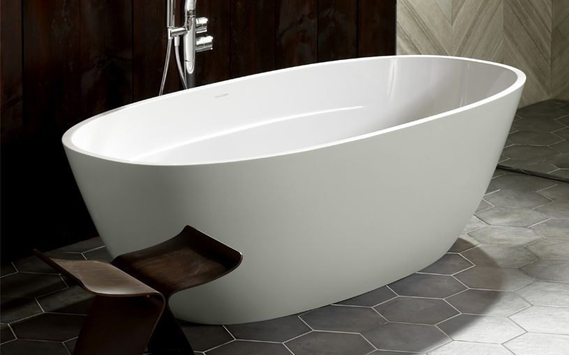 terrassa - deep oval soaking tub | victoria + albert baths usa