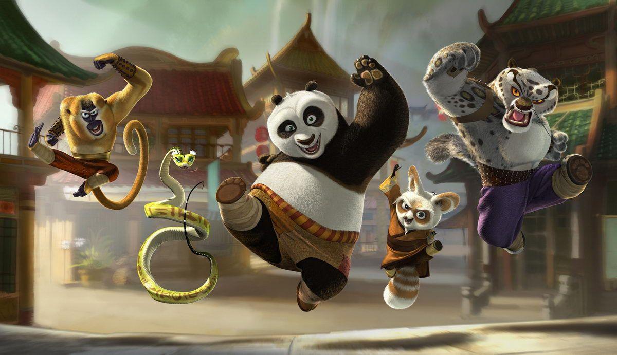 Kung Fu Panda Animated Movies Kung Fu Panda Kung Fu E