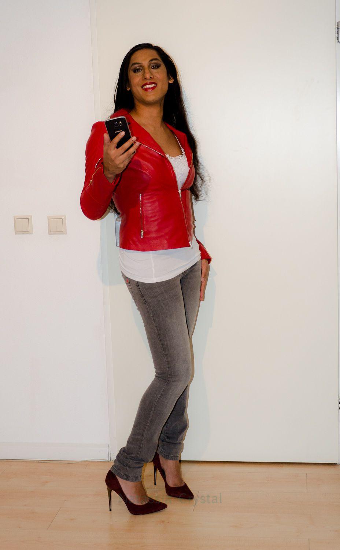 5e2e0822609 Pin on Crossdresser in jeans