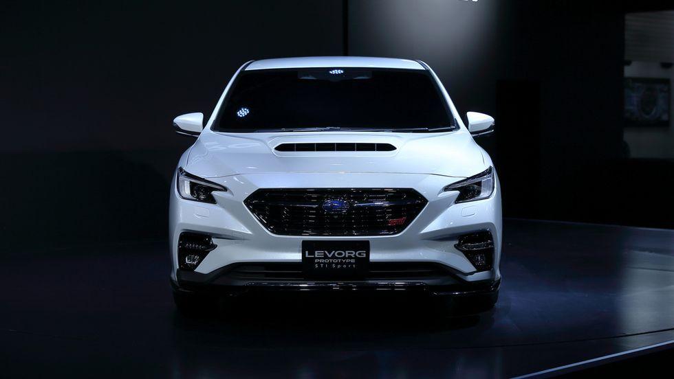 View Photos Of The Subaru Levorg Prototype Sti Sport In 2020 Subaru Levorg Subaru Sport 10