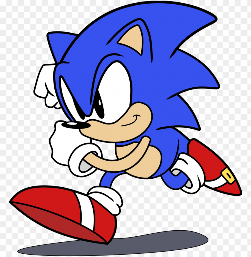 Classic Sonic The Hedgehog By Raindashy - Sonic Calsec The Hedgeho PNG  Image With Transparent Background Png - Free PNG Images Classic Sonic,  Sonic Birthday, Sonic The Hedgehog