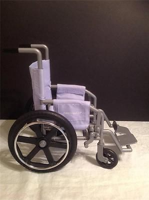 Dolls & Bears American Girl Doll Purple Wheelchair