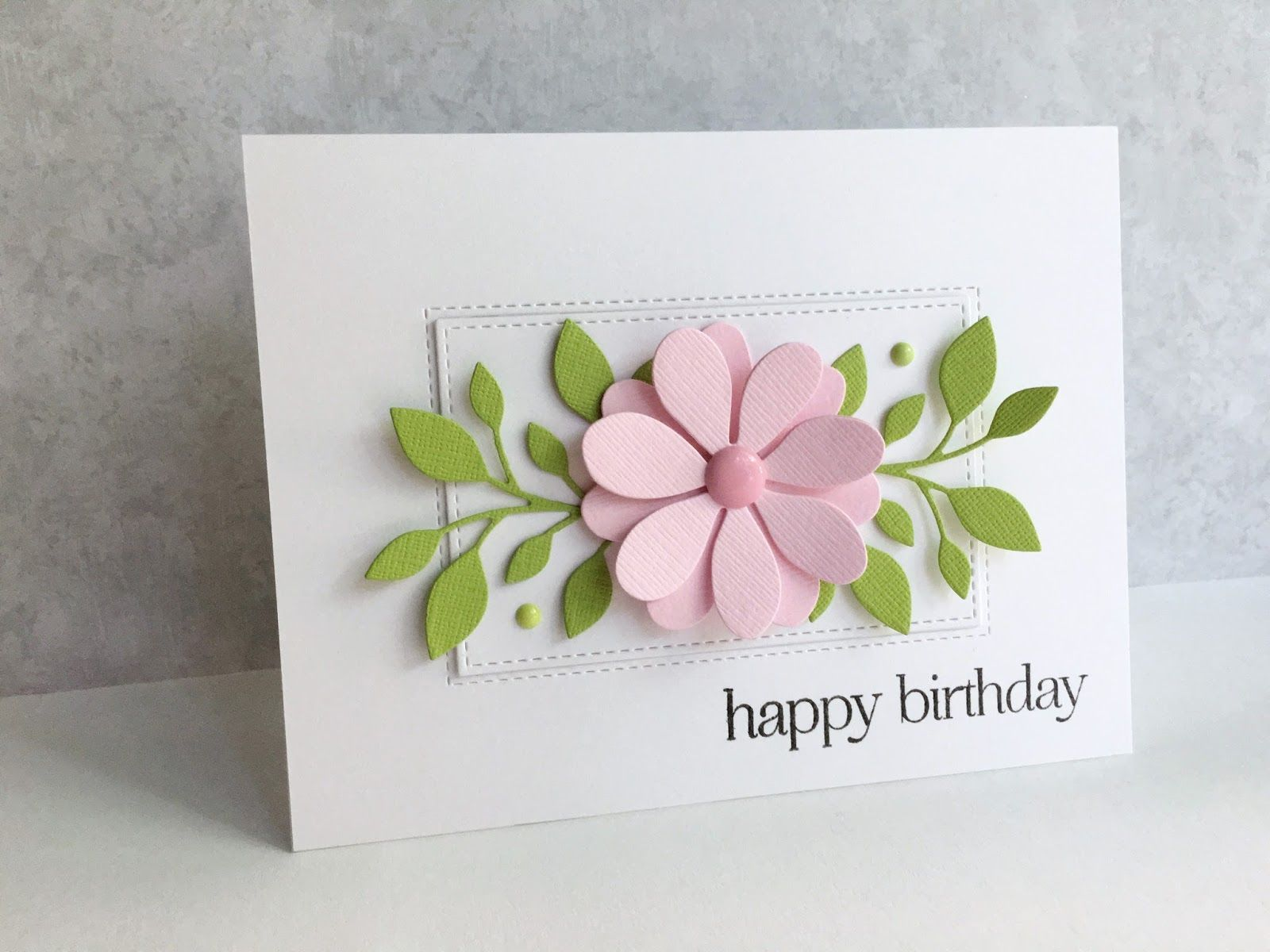 I'm in Haven: A Birthday Flower #flowercards