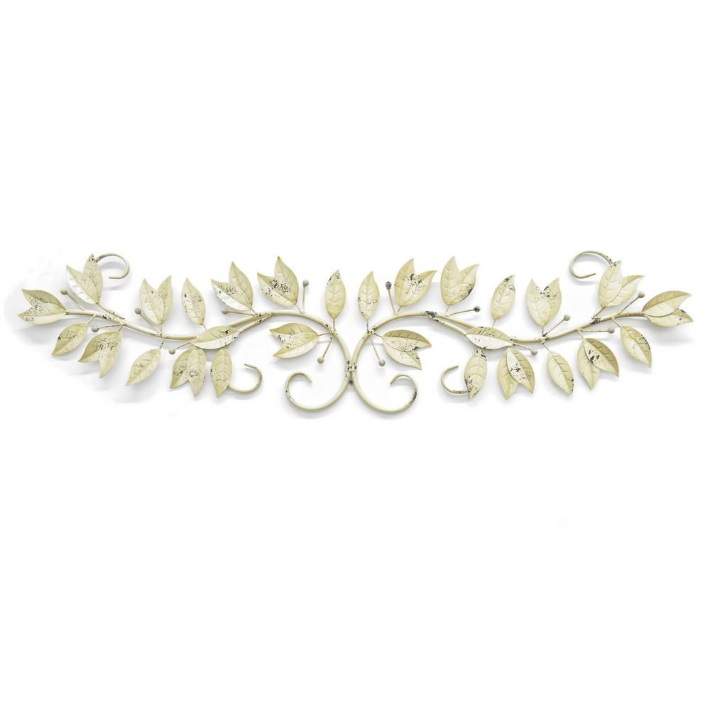 Three hands in metal leaf wall art white products pinterest