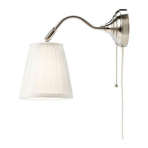 ARSTID IKEA wall lamp for head of bed Attic Ideas
